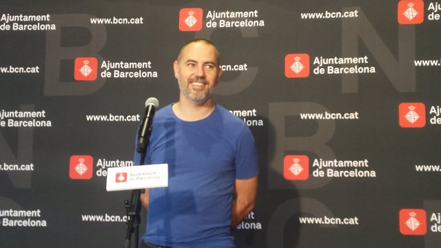Eloi Badia, regidor de l'Ajuntament de Barcelona