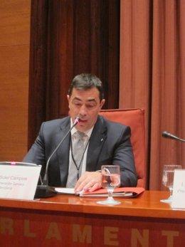 El director de Servicios Penitenciarios de la Generalitat, Pere Soler.