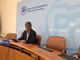 """Puy destaca el carácter """"abierto"""" del Parlamento gallego hacia la oposición"""