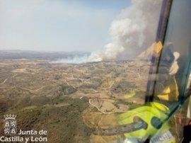 Desalojado un camping próximo a Aldeadávila por un incendio