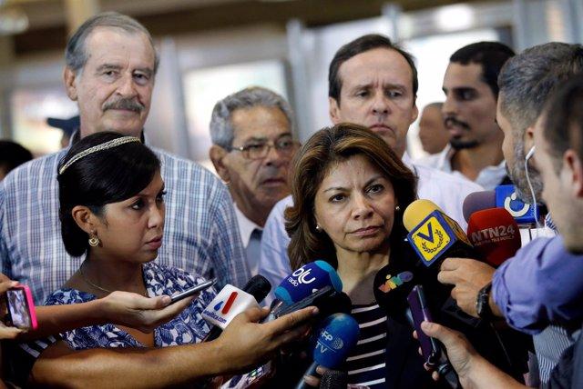 Los expresidentes y observadores de la consulta de la oposición venezolana