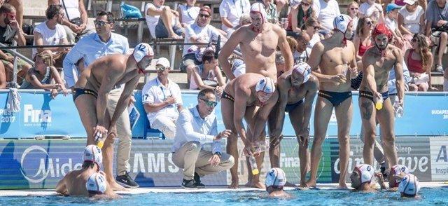 David Martín waterpolo selección española masculina