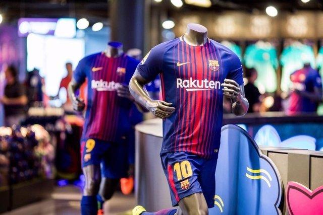 Barcelona equipación camiseta