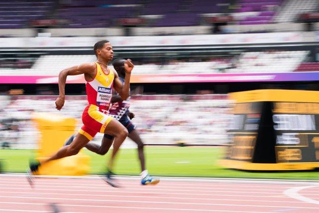Deliber Rodríguez 400 metros mundial paralímpico
