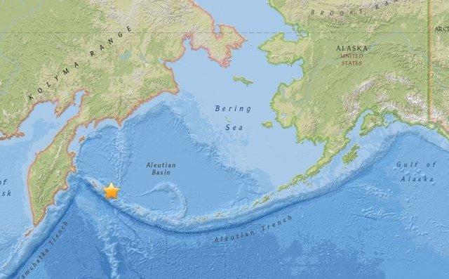 Terremoto de magnitud 7,4 frente a Kamchatka (Rusia)
