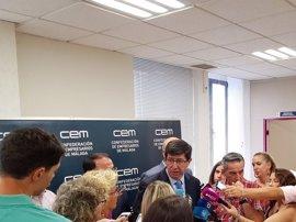 """Marín (Cs) espera que Gobierno no recurra las 35 horas y le pide """"sensatez"""" y diálogo con las CCAA de cara a PGE de 2018"""
