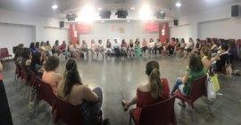 """Caraballo subraya el liderazgo de las mujeres y les pide complicidad para que el PSOE """"siga siendo el referente"""""""