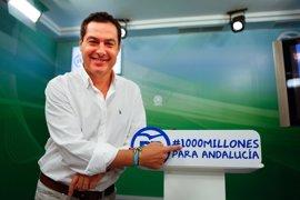 Moreno sugiere a Montoro que no pida la suspensión cautelar de las 35 horas en Andalucía