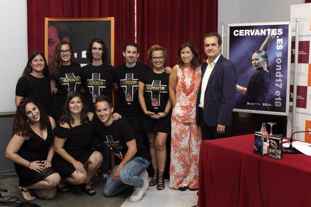Presentación temporada Cervantes