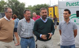 Alcalde de Moguer pide al Gobierno central su colaboración para recuperar las zonas afectadas por el incendio
