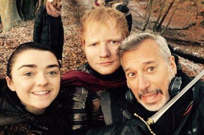 Juego de tronos: Ed Sheeran se va y vuelve de Twitter tras las críticas a su cameo