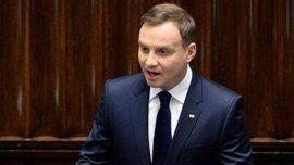 El presidente de Polonia amenaza con bloquear la reforma judicial del Gobierno