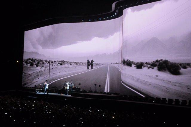 Concierto de U2 en el Estadi Olímpic de Barcelona