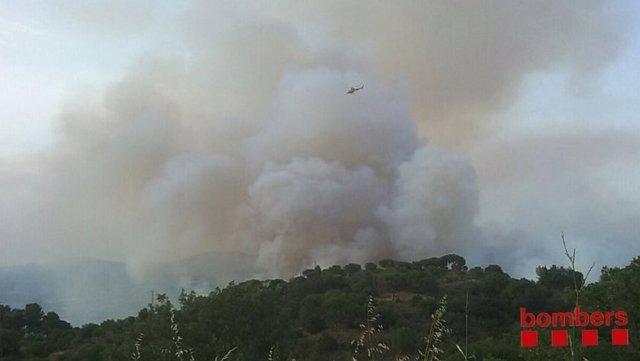 Incendio en Martorell