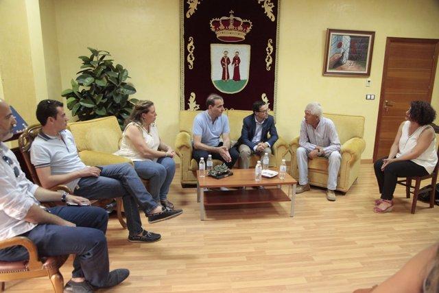 Reunión Arroyo de San Serván