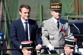 Dimite el jefe del Estado Mayor de Francia tras sus desavenencias con Macron por los recortes previstos