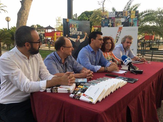 Prensa San Javier. Festival Ede Jazz. Un Libro Estudia El Festival Y Su Propia I