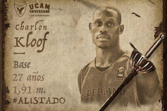Charlon Kloof ficha por el UCAM Murcia