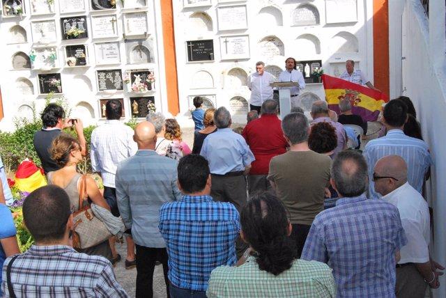 Homenaje a los últimos guerrilleros antifranquistas en Medina Sidonia