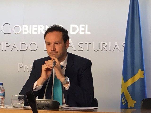 Guillermo Martínez, portavoz del Gobierno del Principado