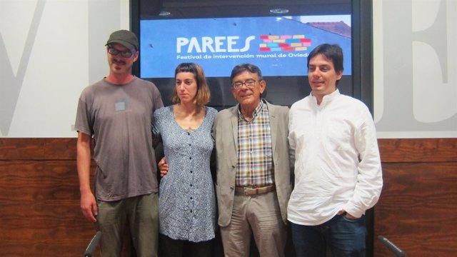 Presentación Del Festival De Intervención Mural 'Parees'