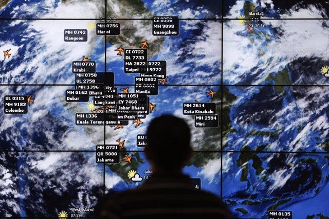 Búsqueda del avión MH370 desaparecido en el Índico en marzo