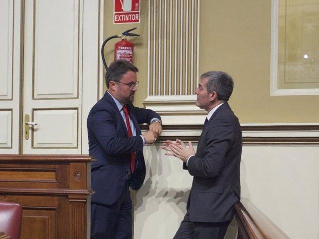 Asier Antona y Fernando Clavijo