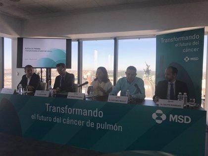 Disponible en España la primera inmunoterapia del mundo para cáncer de pulmón no microcítico en primera línea