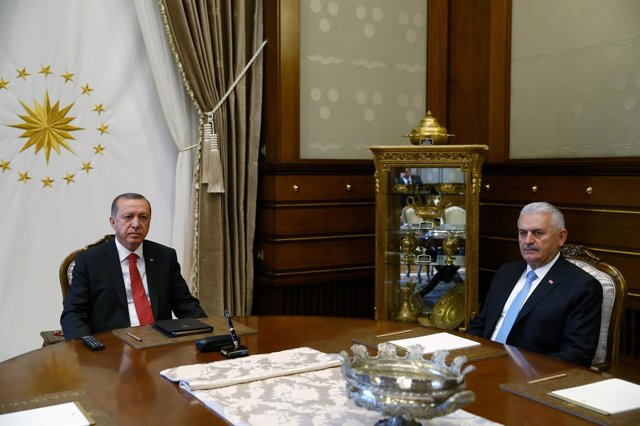 RecepTayyip Erdogan y Binali Yildirim