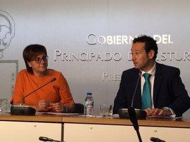 """El Principado cree que la """"evolución nacional"""" refuerza el pacto de izquierdas en Asturias y Gijón"""