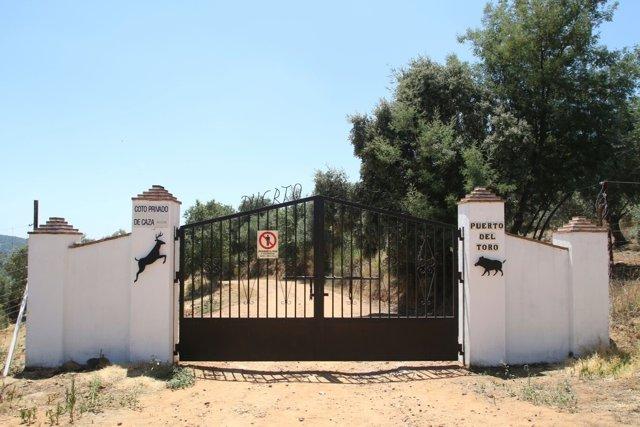 Finca Puerta del Toro, donde ha aparecido muerto Miguel Blesa