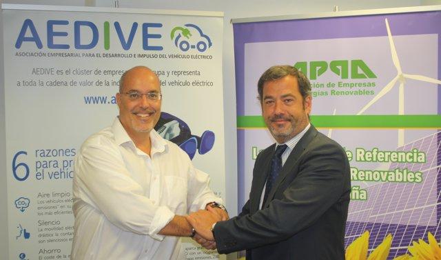 Acuerdo colaboración APPA-AEDIVE