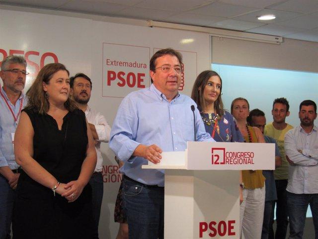 Guillermo Fernández Vara, tras ganar las primarias
