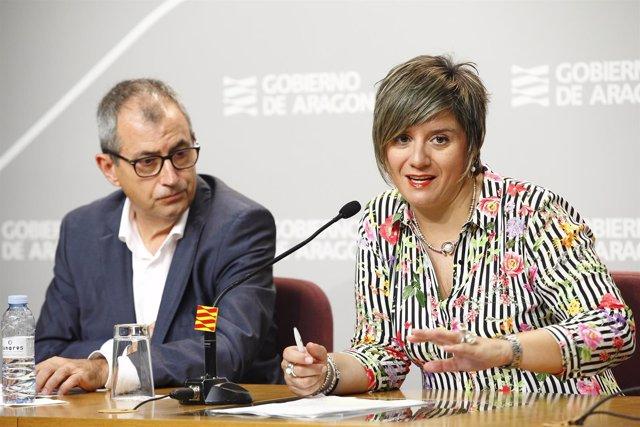 Los directores generales Mayte Andreu y Fernando García Mongay.