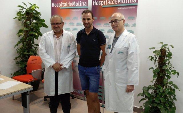 Alejandro Valverde tras su operación
