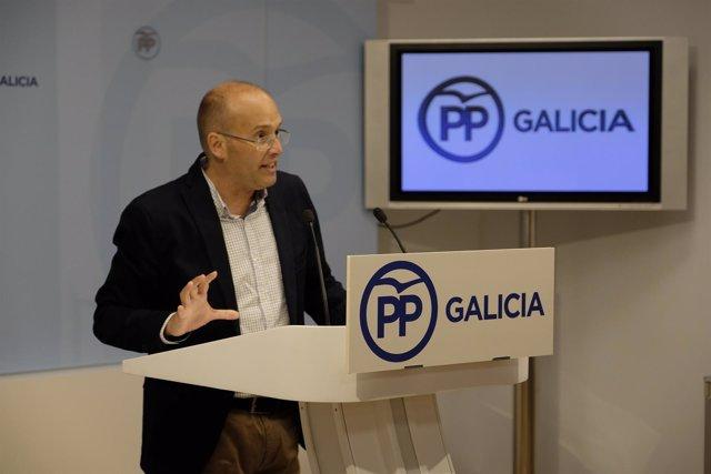 Miguel Tellado homenaje a Manuel Fraga