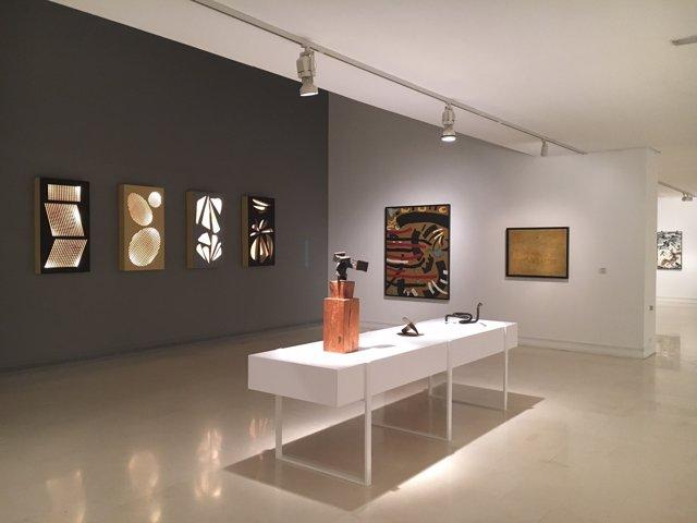 La exposición 'La eclosión de la abstracción' en el IVAM