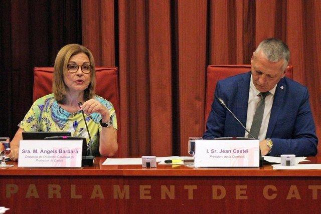 La directora de la Autoritat de Protecció de Dades, Maria Àngels Barbarà
