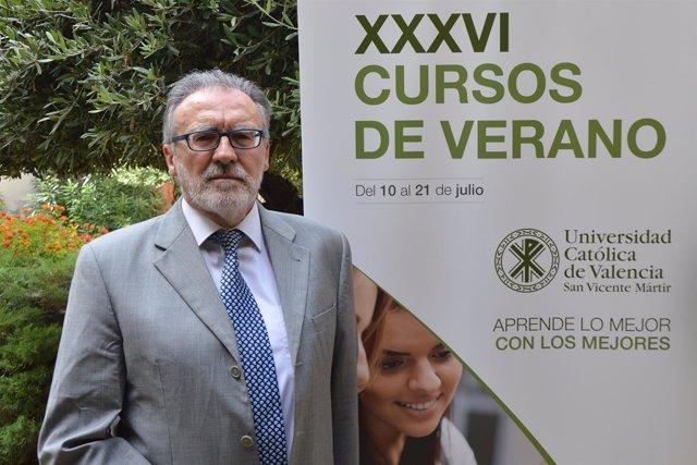El magistrado juez Florencio Izquierdo