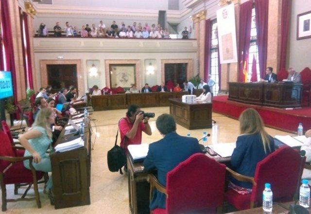 Pleno Extraordinario Ayuntamiento de Murcia