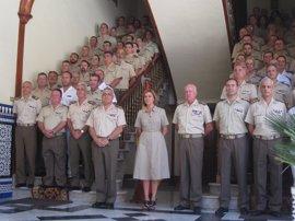 Cospedal aboga por que los españoles vuelvan a reconocer la importancia de las Fuerzas Armadas