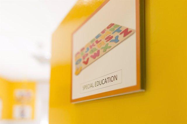 Colegio bilingüe, escuela, aula, primaria, infantil, clase, niño, niña, niños