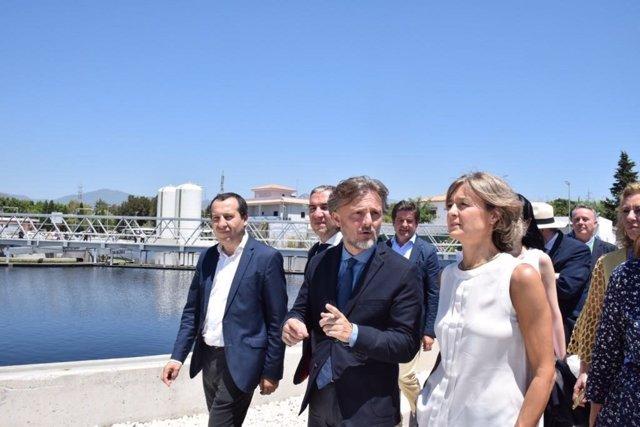 Ruiz Espejo , Jose Fiscal Y Minsitra Medio Ambiente García Tejerina