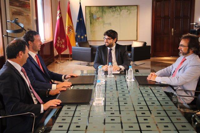 Reunión presidente con FREMM