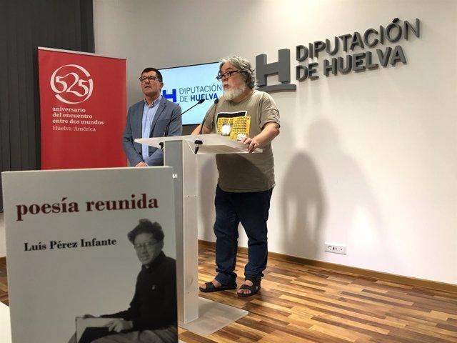 Presentación del libro 'Poesía reunida de Luis Pérez Infante'.