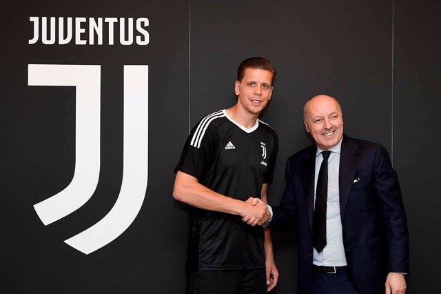 Wojciech Szczesny llega a la Juventus