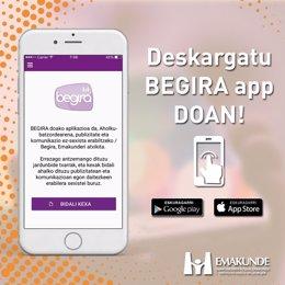 App berria sortu du Emakundek