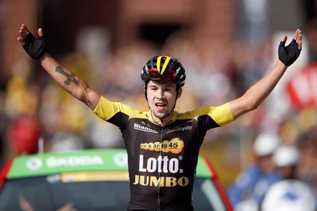 Primoz Roglic gana en el Tour