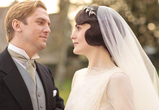 Boda en Downton Abbey
