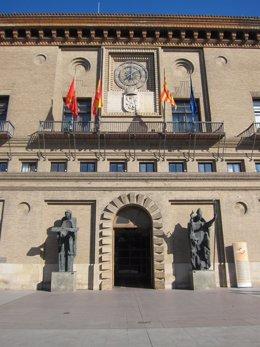 Ayuntamiento de Zaragoza frontal